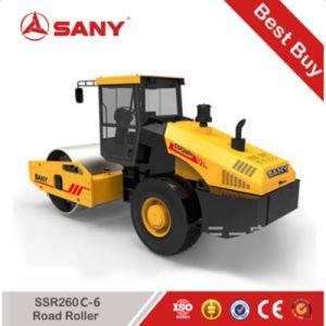 Sany SSR260c-6 SSR Series Vibratory Road Roller 26 Ton Weight Single Drum Roller Prices pictures & photos