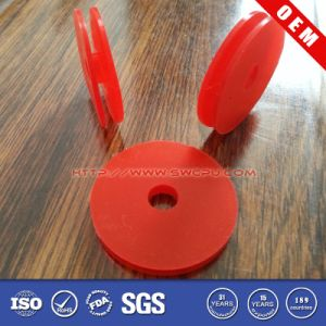 Automatic Red Plain Rubber Washer/Spacer/Gasket with Center Hole pictures & photos