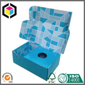 Folding Style Color Print Corrugated Paper Packing Box pictures & photos