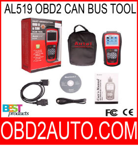 Autolink Al519 OBD2 Scanner Can Bus Auto Scanner Tester Tool Multi-Languages