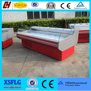 Refrigerated Produce Display Cooler/ Supermarket Equipment (SMS) pictures & photos