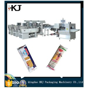 Best Selling Automatic Noodle Bundling and Packing Machine with Three Weighers pictures & photos
