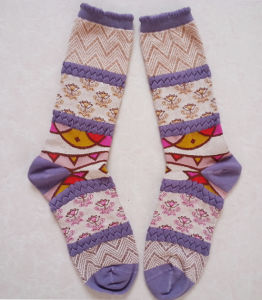Fashion Custom Lady Sock pictures & photos