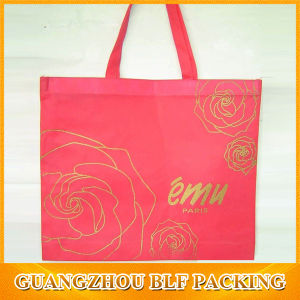 Gold Printing Non Woven Wholesale Cheap Shopping Bag (BLF-NW082) pictures & photos