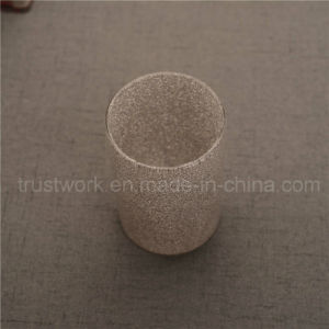 Smoking Sanded Jewel Glass Candle Holder pictures & photos