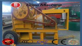 portable Jaw Crusher Mobile Jaw Crusher Track Mobile Crushing Plant pictures & photos
