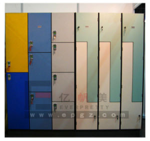 Solid Phenolic HPL Lockers Sauna Room Gym Lockers pictures & photos