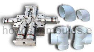 Plastic Injection Pipe Fitting Mould (YS-012)