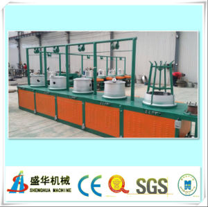 Full Automatic Wire Drawing Machine Drawing Range: 6.5-2.2mm pictures & photos