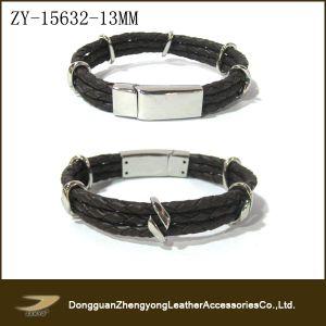 New Men′s Cowhide Braided Bracelets (ZY-15632)