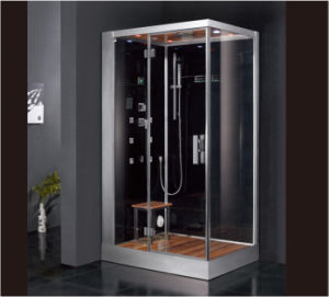 2016 New Style Luxury Steam Shower Enclosure with Tempered Glass Asts1059 pictures & photos