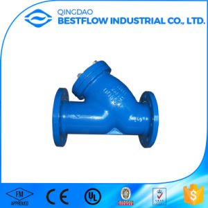 Ground Works Pipeline Products Ductile Iron Y Strainer for Contractors pictures & photos