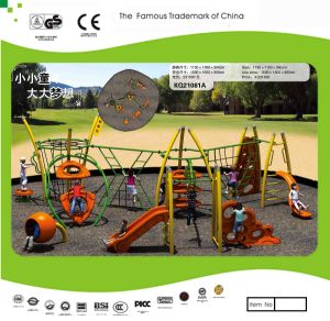 Kaiqi Medium Sized Children′s Obstacle Course and Adventure Playground Set (KQ21081A) pictures & photos