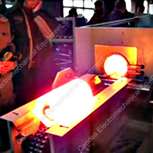 Industrial Electric Induction Heating Forging Furnace for Metal Foundry If-100kw