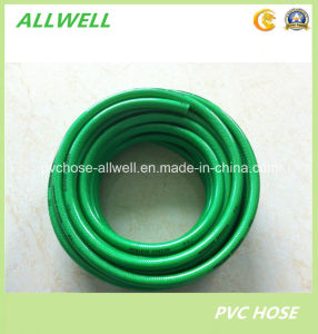PVC Plastic Braided Water Irrigation Garden Water Hose Pipe pictures & photos