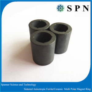 Ferrite 1900GS High Performance Magnet Rings Sintered Press Process pictures & photos