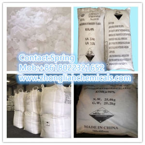 Food Grade Potassium Hydroxide KOH 90% Min pictures & photos