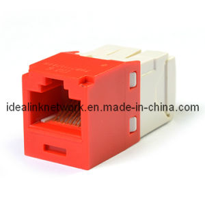 Keystone Jacket CAT6 UTP Connector Network Accessory With Phosphor Bronze Contact Blade (120608)