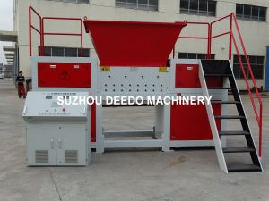 High Quality Plastic Double Shaft Shredder pictures & photos