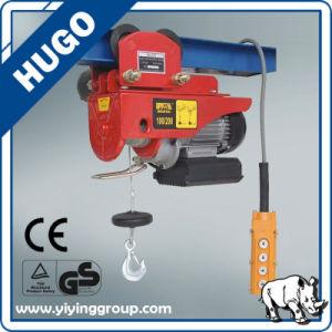 Wholesale Alibaba Mini Electric Wire Rope Hoist 100kg pictures & photos