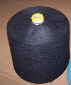 100% Polyester Dyed Spun Yarn -Black