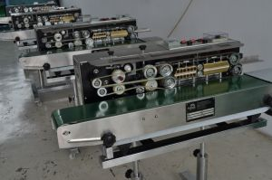 Spm-100vgp Automatic Continuous Vacuum and Gas Flushing Band Sealer pictures & photos