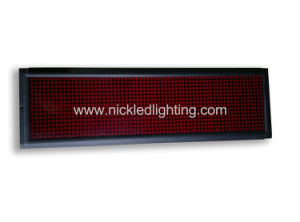 Text Advertising Message Moving LED Sign (NK-LSS) pictures & photos