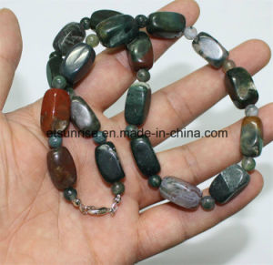 Semi Precious Stone Crystal Beaded Necklace Fashion Jewelry Setss pictures & photos