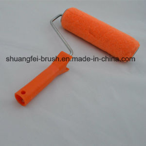 "9"" Pink Polyester Paint Roller with 44mm for 9"" *5 Wire Roller Handle pictures & photos"