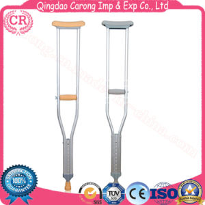 Medical Adjustable Stainless Steel Crutches pictures & photos
