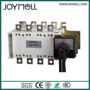 Electric 4 Pole Manual Transfer Switch 1A to 3200A pictures & photos