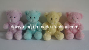 Middle Plush Sitting Light Color Teddy Bear pictures & photos