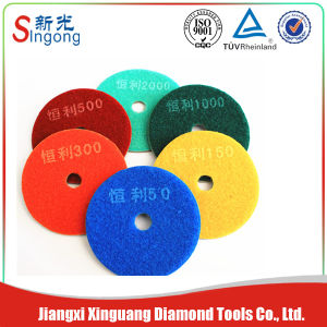 Good Quality Diamond Floor Polishing Pads (XG-P2000P) pictures & photos
