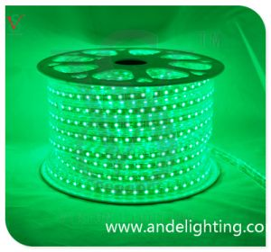 PVC Material SMD3528 Green LED Strip Rope Light SMD Strip Light pictures & photos