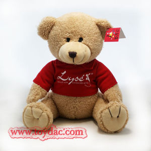 Plush Red T-Shirt Bear Toy pictures & photos