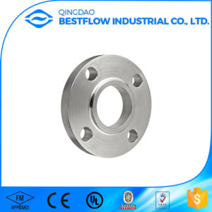 ANSI B16.5 Stainless Steel Ss F182 F304 Forged Steel Pipe Flange Made in China pictures & photos