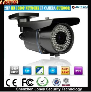 IR Night Vision Full HD P2p Poe 2MP 1080P Outdoor IP Network Camera Networkcamera pictures & photos