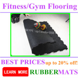 Fadeless Fitness Rubber Flooring Gym EPDM Rubber Flooring pictures & photos