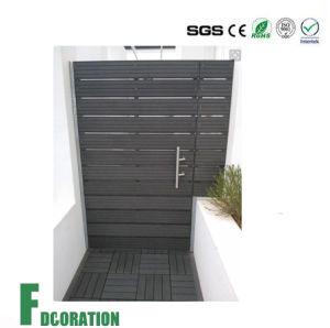 Weather-Resistant WPC Door Hot Sale Wood Plastic Composite Garden WPC Gate