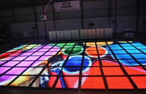 High Brightness Portable IP65 Waterproof P10 Video LED Dance Floor pictures & photos