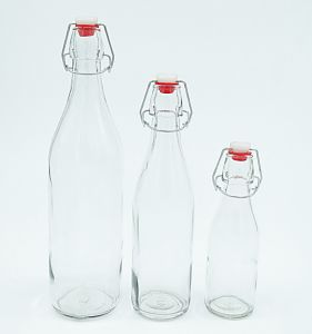 Kitchen Cooking Kitchenware Preseving Round Glass Bottle pictures & photos