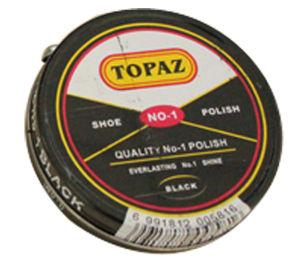 Tin Box Solid Shoe Polish 40ml