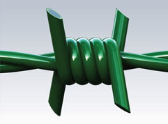 PVC Coated Barbed Wire/ Barbed Rope pictures & photos