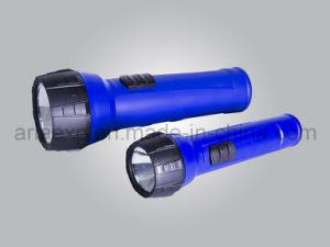 Super Bright LED Plastic Torch (718-2D & 718-2AA)