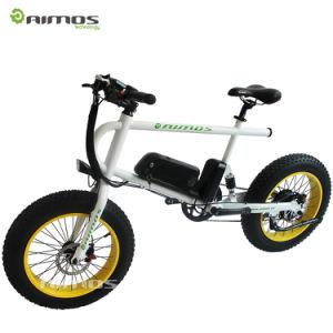 China 7 Speed 30km Mileage 36v 250w 20inch Fat Tire Electric Bike