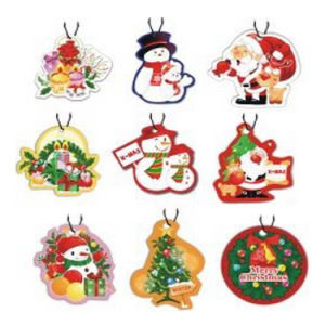 High Quality Long Life Fragrance Cotton Paper Air Freshener for Custom Auto (YB-f-010) pictures & photos