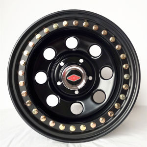 Customed Offroad Beadlock Steel Wheel Rim 17X9 for Jeep pictures & photos