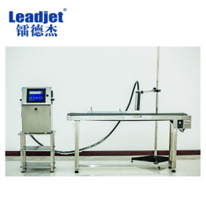 Automatic Continuous Inkjet Coding Machine for Carton PVC pictures & photos
