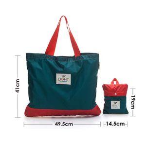 Lightweight Reusable Foldable Polyester Shopper Shopping Bag pictures & photos