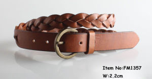 Women′s Leather Belt pictures & photos